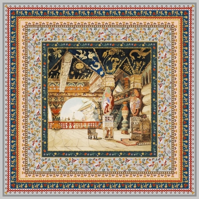 Scarf Art Edition Palace of Tsar Berendei